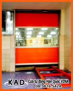Cửa cuốn nhanh KAD-2000 tại công ty Hi-Q
